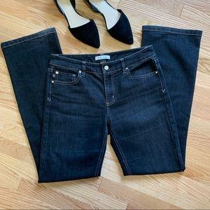 WHBM Mid Rise Boot Leg Jeans Dark Wash C9